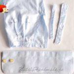 Как укоротить рукава мужской рубашки с манжетами