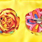 Как сделать цветок из ткани, легко и быстро.