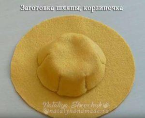 Заготовка-для-шляпы-корзиночка