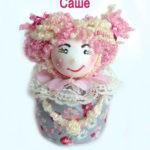 Кукла из ткани саше с ароматом лаванды