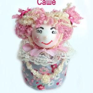 Кукла-из-ткани-саше с лавандой