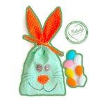 Пасхальный мешочек для яиц и сладостей